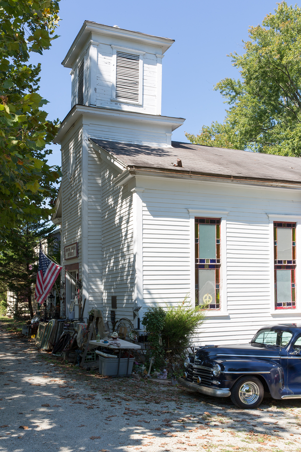 SANDY VOLZ MEETING HOUSE — Metamora